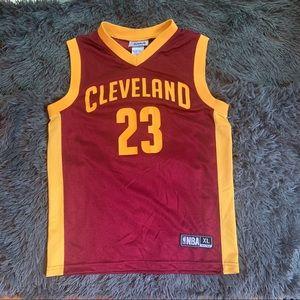 Cleveland basketball jersey